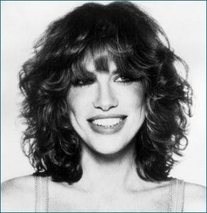 1970 Hairstyles vintage 1970s curled flip haircut Carly Simon 1970s Short Hairstyles