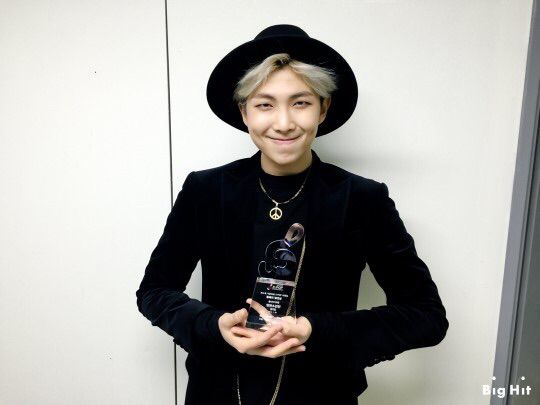 Rapmonster with award
