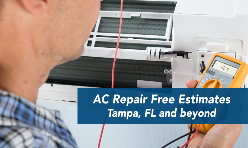Ac Repair Free Estimate Tampa Ac Repair Air Conditioning Companies Repair