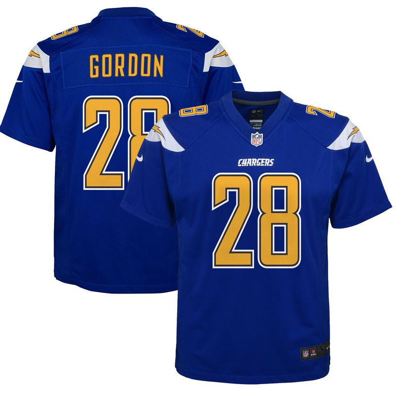 chargers royal blue jersey