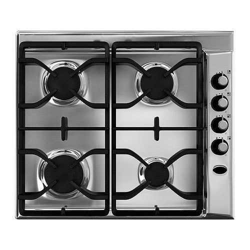 ikea d tid hga4k gas hob stainless steel 130 tefri pinterest stainless steel steel and. Black Bedroom Furniture Sets. Home Design Ideas