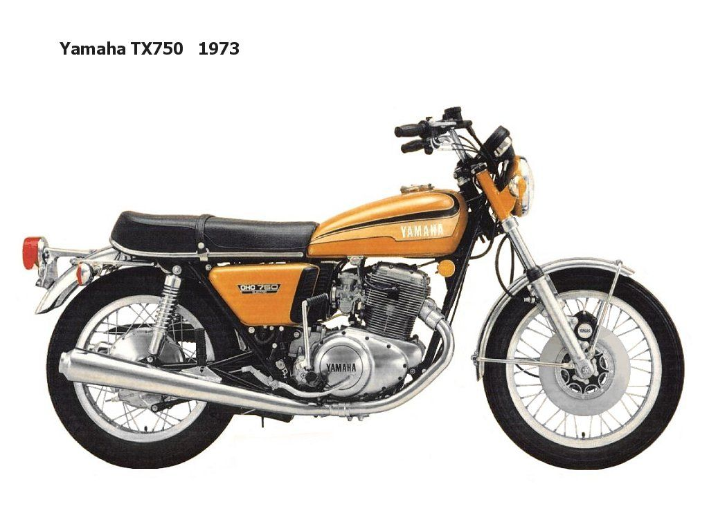 Yamaha Tx750 Yamaha S First Production 750cc Model Sold On The