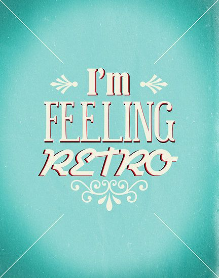I M Feeling Retro By Joelmerren Retro Font Retro Lettering