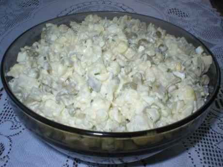 Sałatka jajeczna z kalafiorem