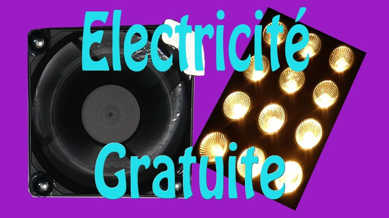 electricit gratuite montage tr s simple youtube tuto. Black Bedroom Furniture Sets. Home Design Ideas