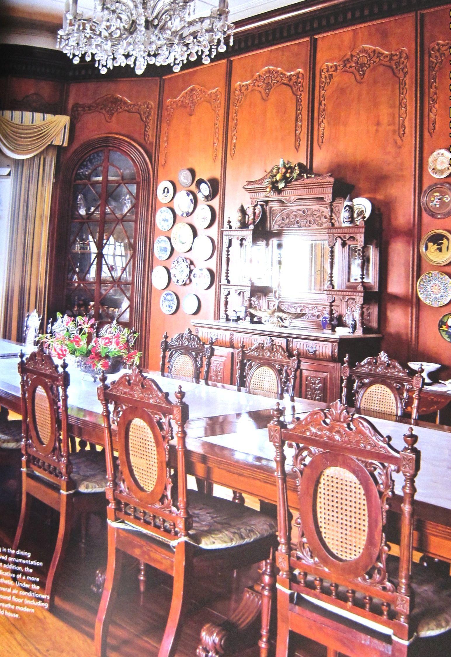 Filipino Inspired Dining Room Filipino Interior Design
