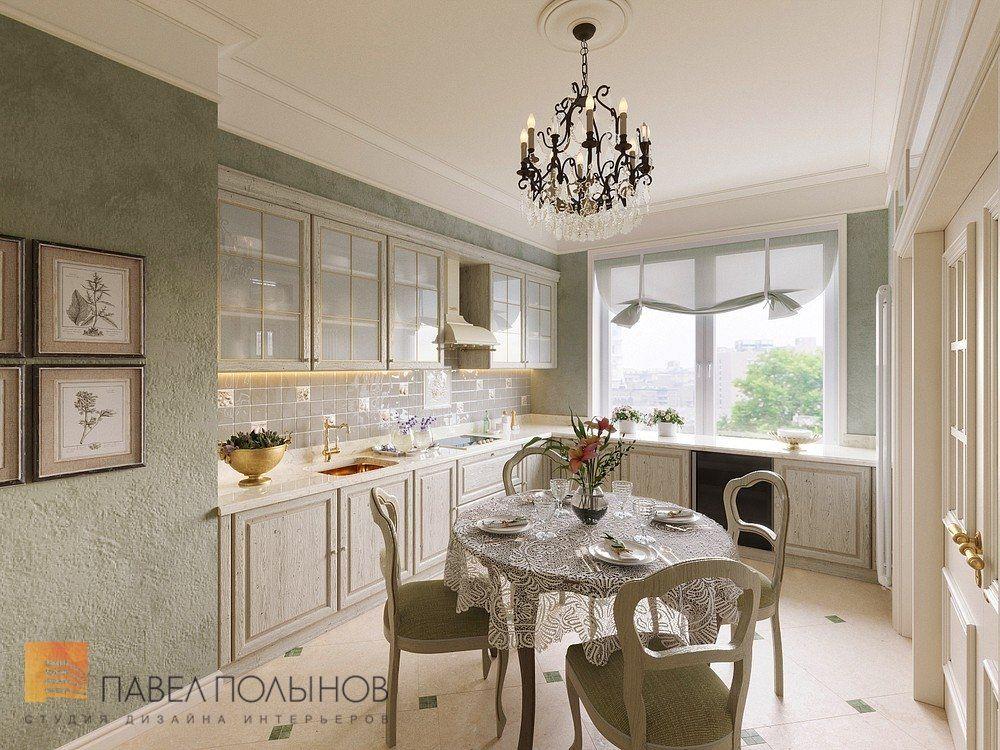 Фото кухня из проекта «Дизайн трехкомнатной квартиры в ...