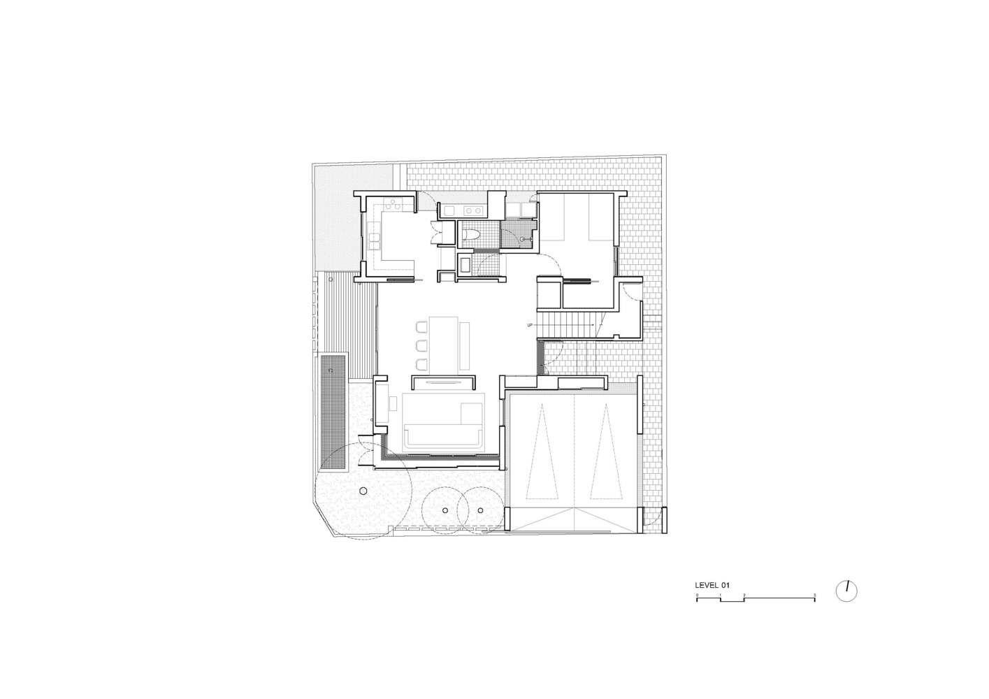 Gallery Of Baan Vibhavadi House Inchan Atelier 31 Atelier Ground Floor Plan House