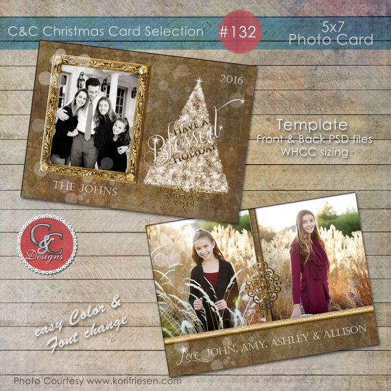 Christmas Photo Card Selection C C 132 Instant Download Etsy Christmas Photo Cards Photo Cards Holiday Photo Cards