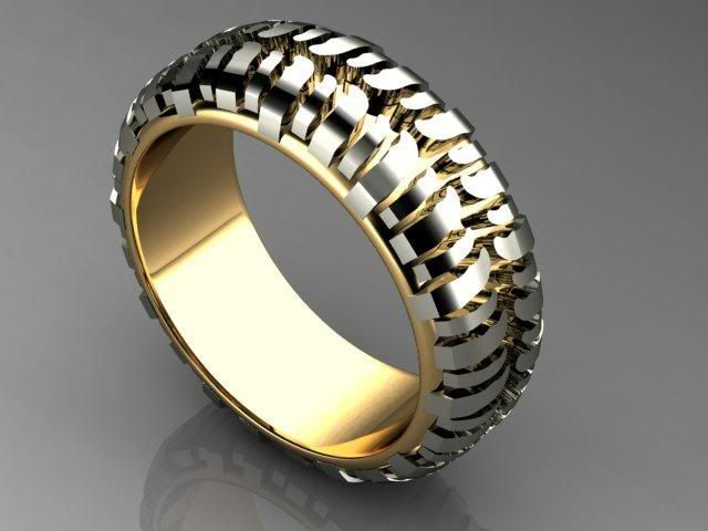 My FH Is A Jeep Offroading Fanatic And He Came Across This Wedding Band Today Wants It Its The Tire Tread