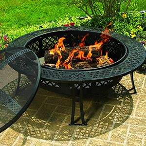 Gas Fire Pit Tables Co Goenoeng. Ore Square Wood Burning ...