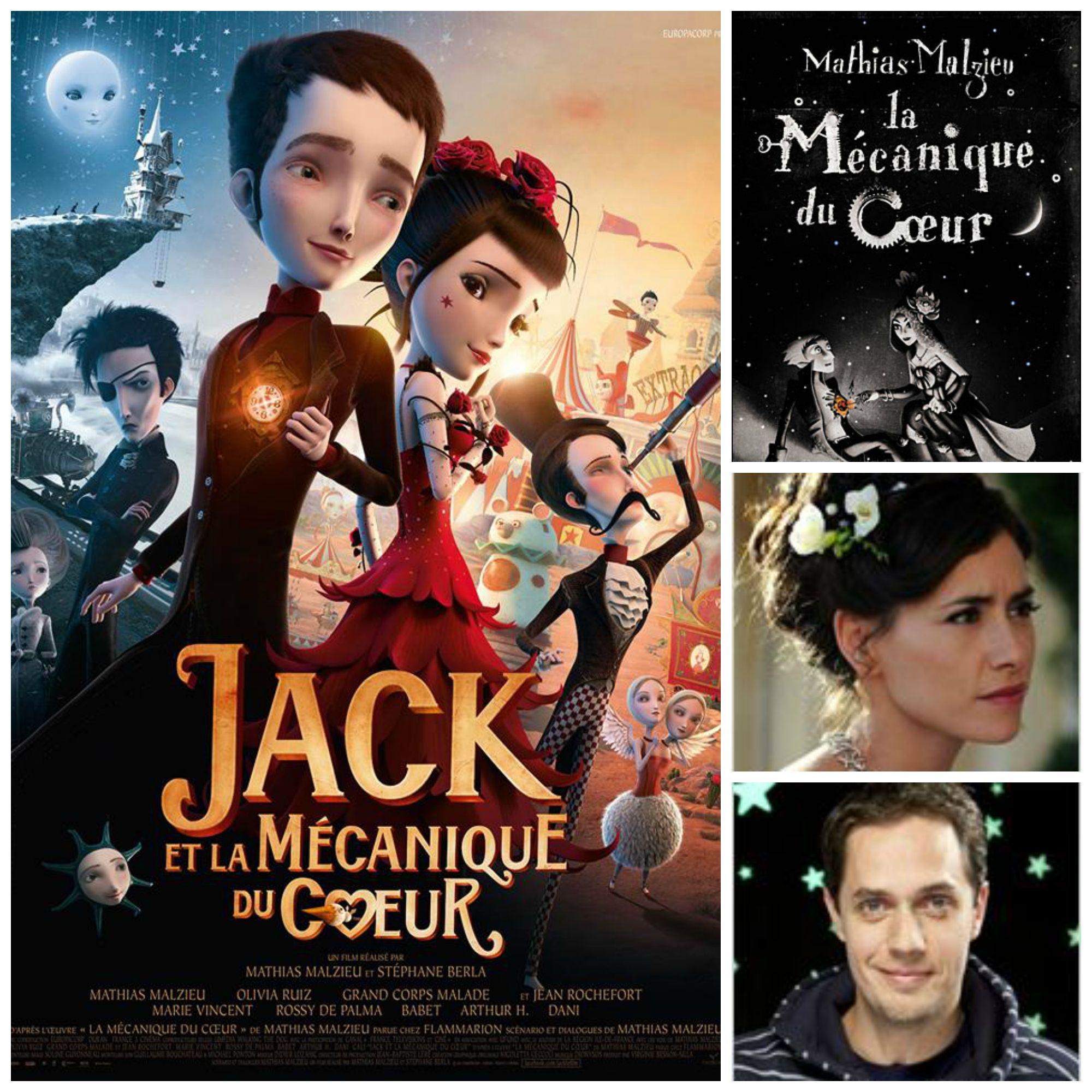 Jack et la mécanique du cœur + Concours Films Movies