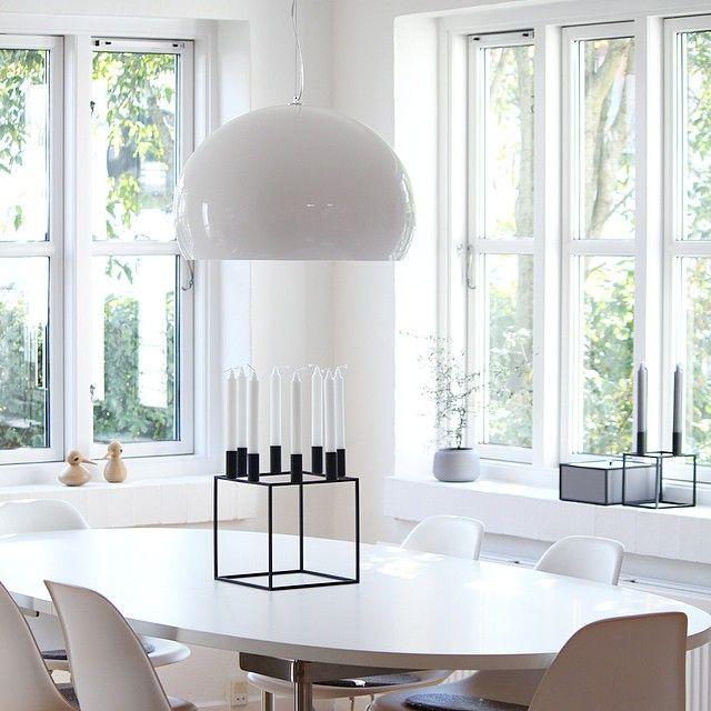 Instagram Photo By Mille Sand Camilla Via Iconosquare Monochrome Interior Design Lamp