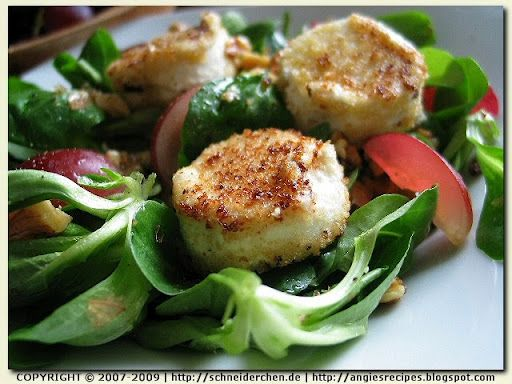 Angie's Recipes . Taste Of Home: Warm Goat Cheese Salad