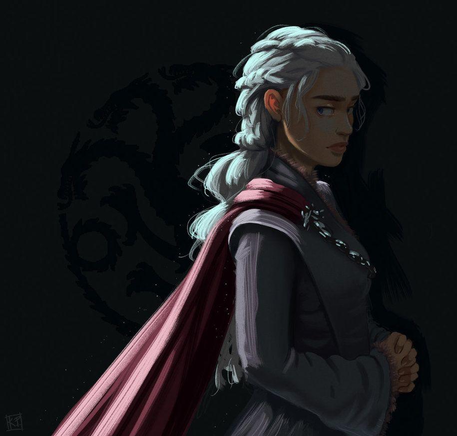 Daenerys Targaryen by kyraichu.deviantart.com on ...
