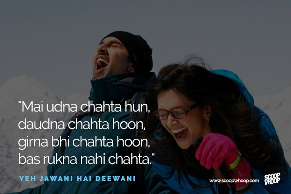 22 Bollywood Dialogues For The Days When You Need Some Inspiration Bollywood Quotes Movie Dialogues Filmy Quotes