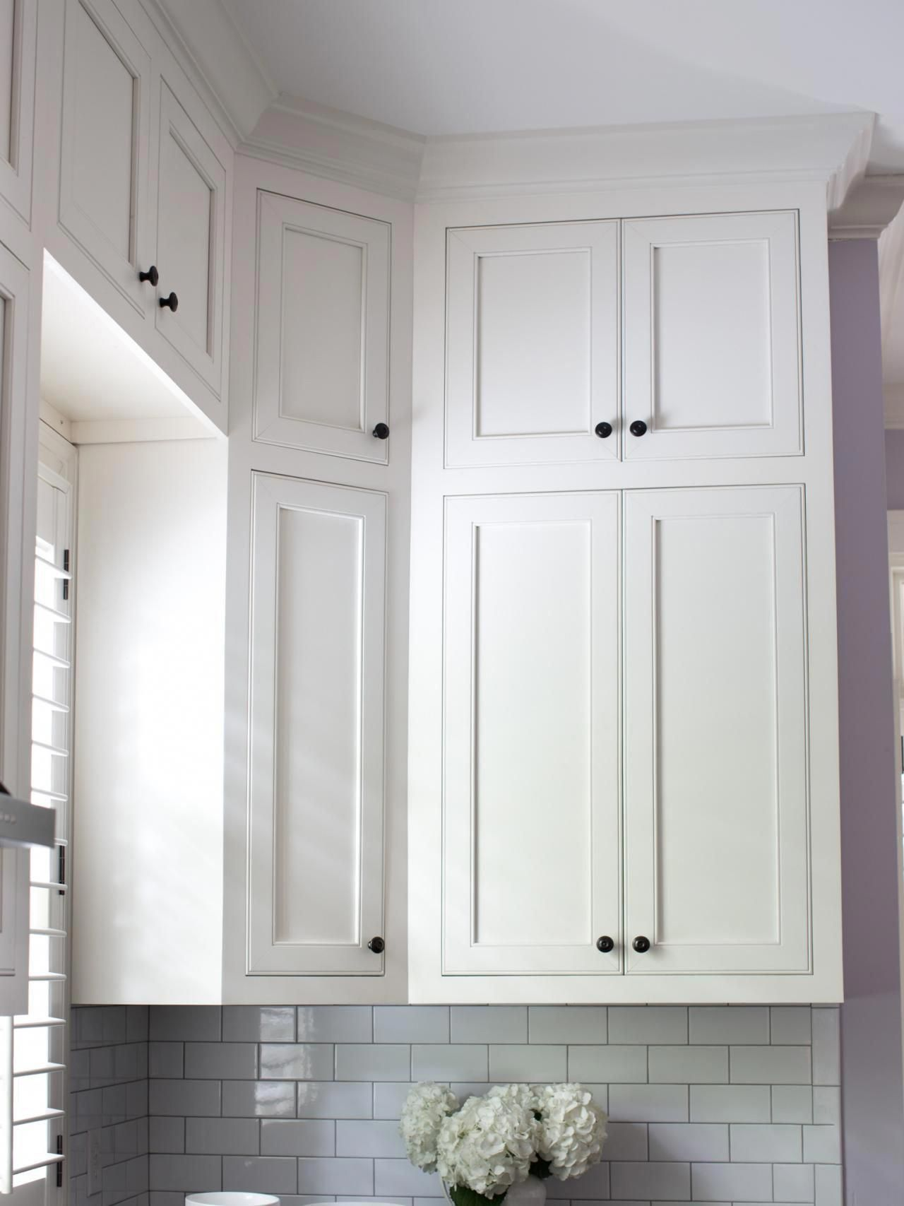 Finishing Touches To Make Or Break A Remodel Break Finishing Remodel Touches In 2020 Kitchen Cabinets To Ceiling White Kitchen Cupboards Kitchen Cabinet Design