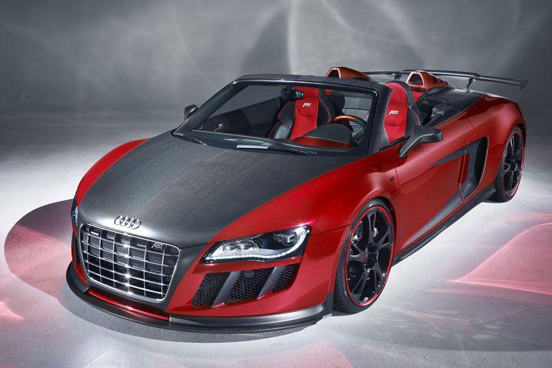 ABT Besprenkelt De Audi R8 Spyder Met Liefde