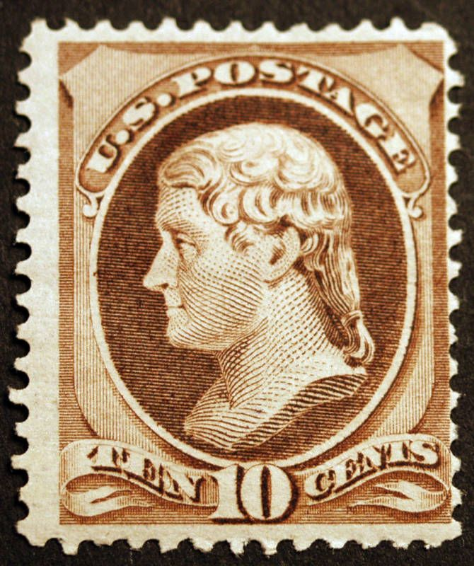U.S. 209 10c Brown 1882 VF Mint Sharp CV 190 Vintage