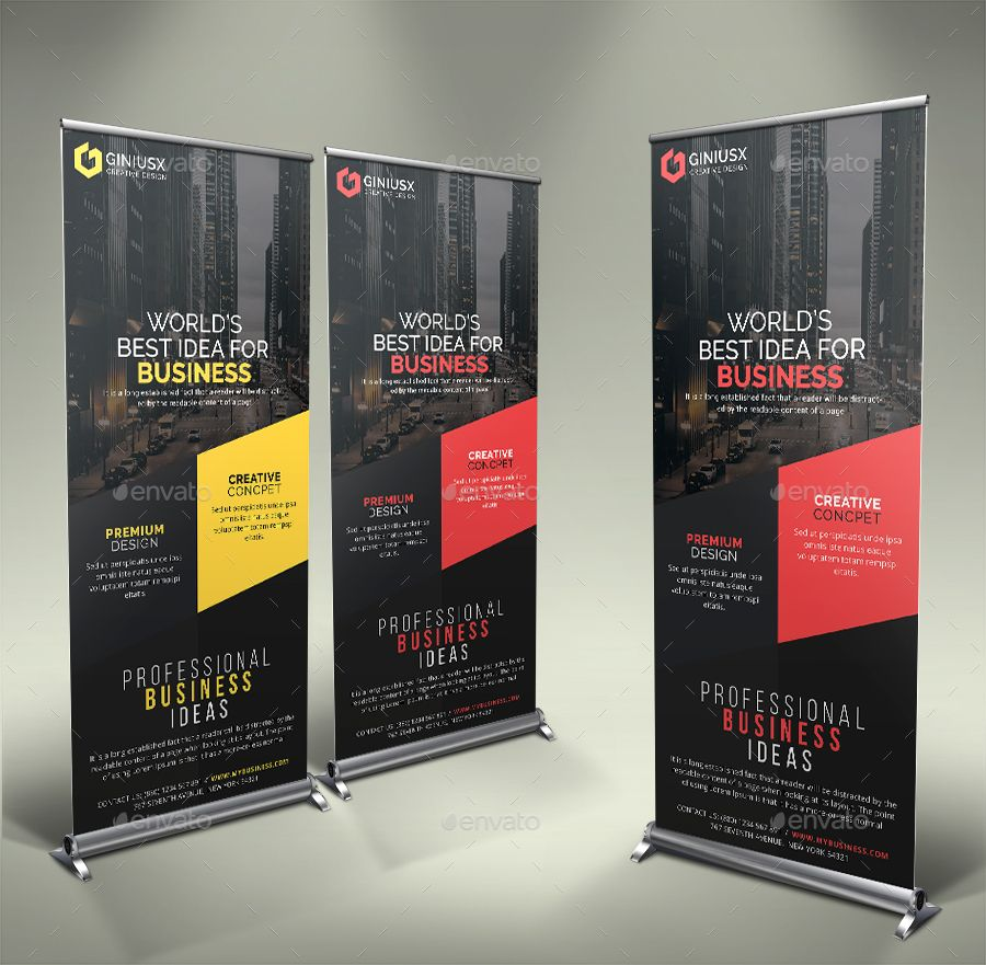 Corporate Roll Up Banner Roll Up Design Rollup Banner Banner