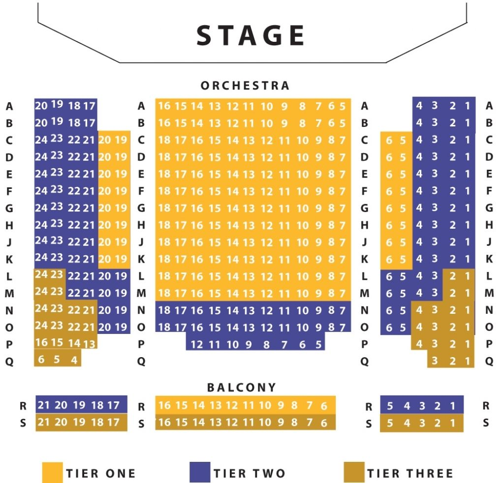 The Incredible Robinson Auditorium Seating Chart