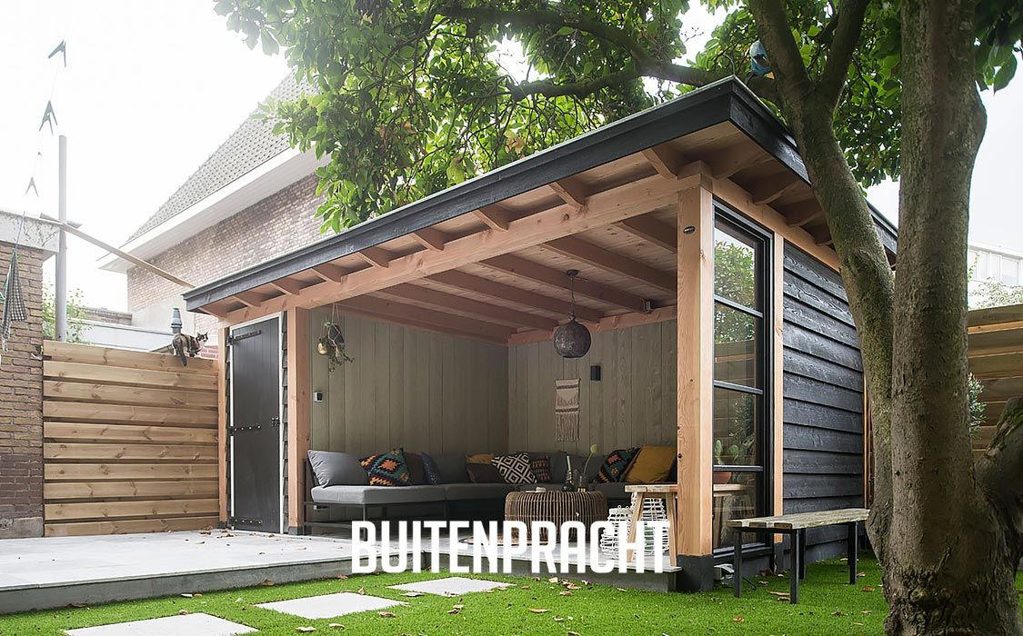 Ontwerp realisatie buitenpracht stijlvolle houtbouw for Open veranda design