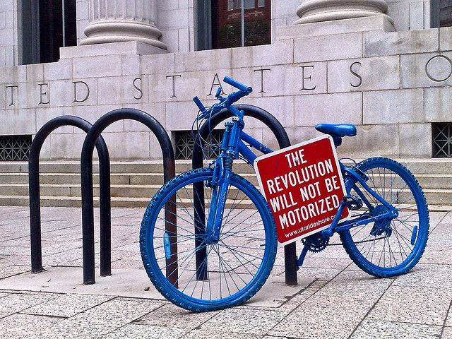 The revolution will not be motorized by dave_laplante, via Flickr