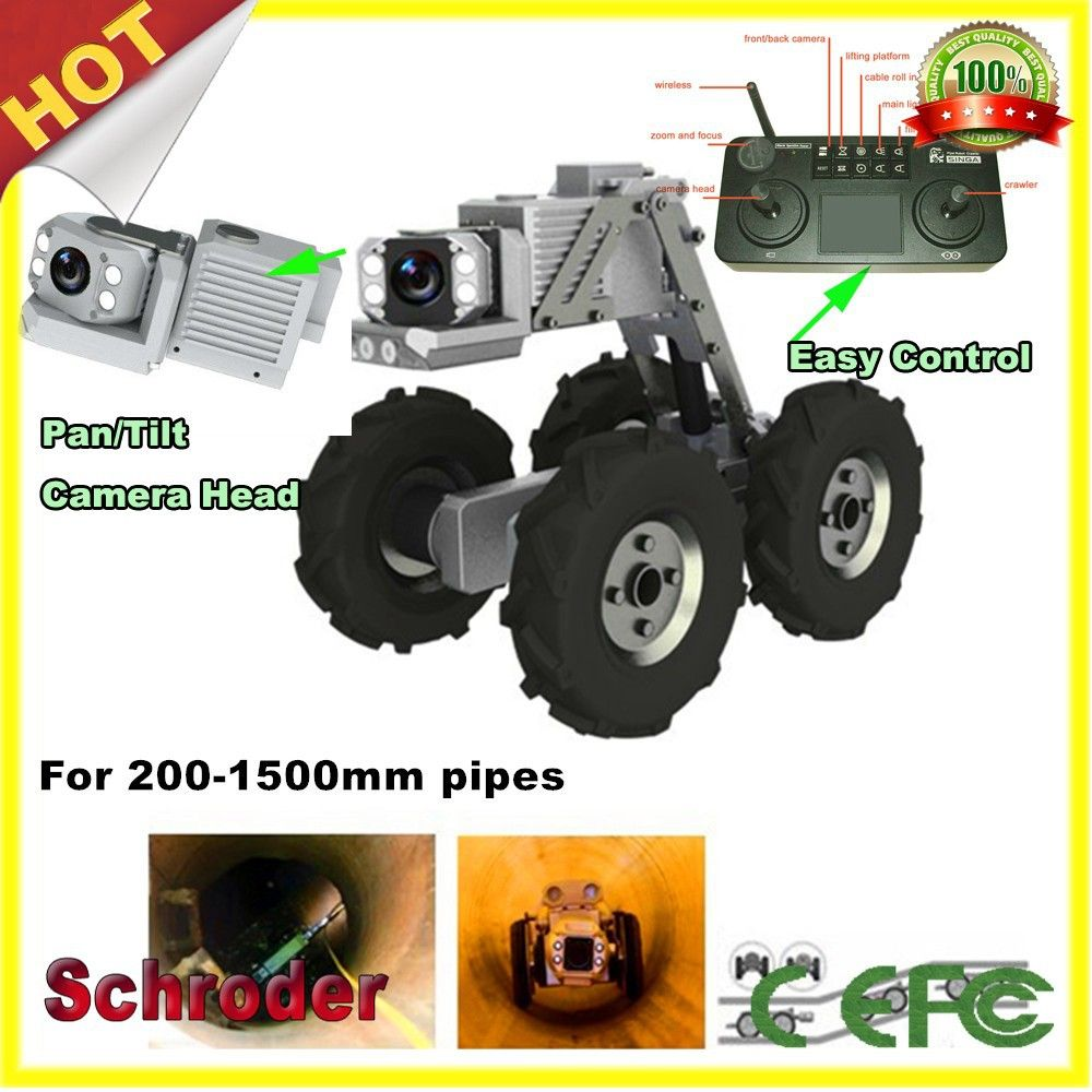 Best Quality Sewer Inspection Camera Robot With Keyboard Remote Control Find Complete Details About Best Quality S Cctv Camera Sewer Camera Remote Controls