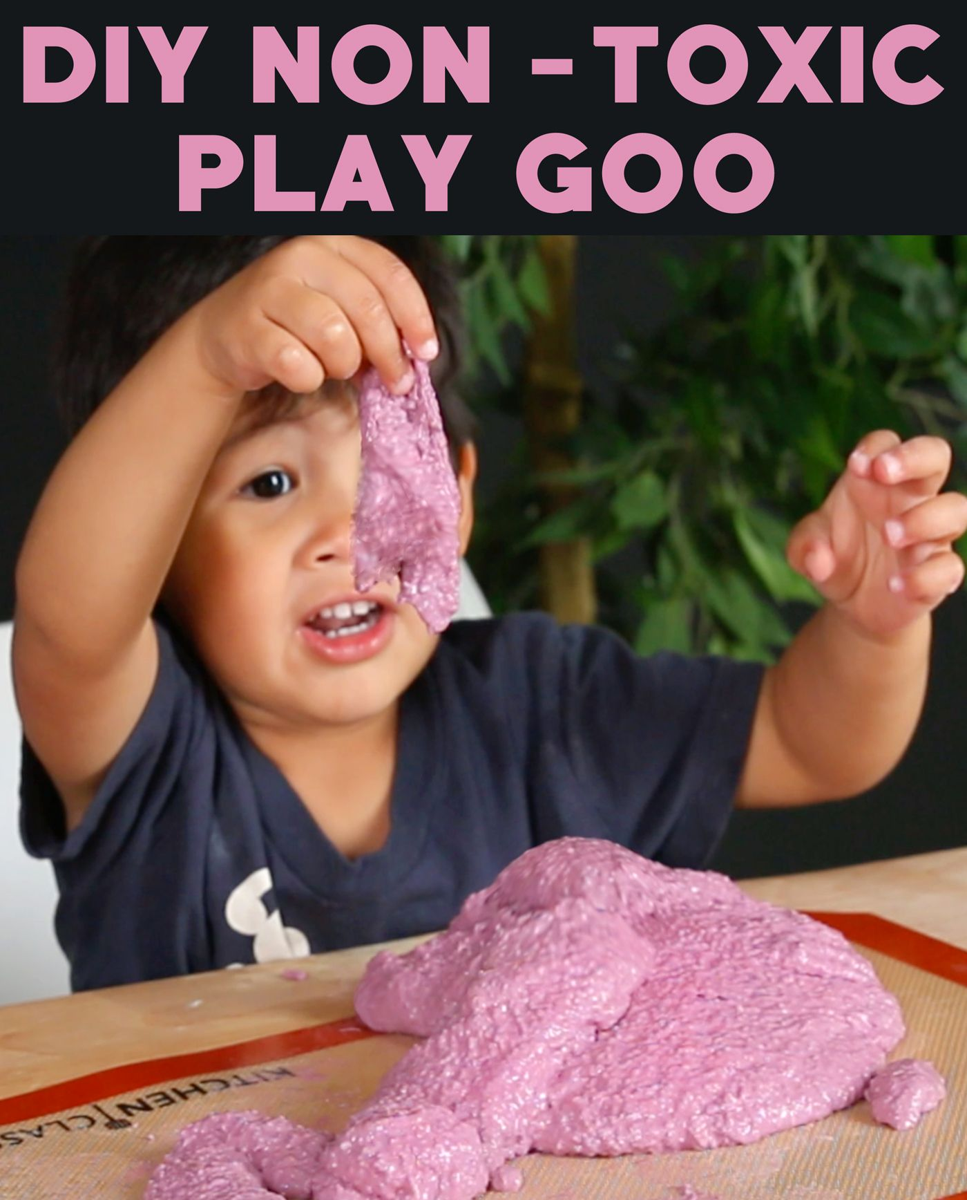 Make Play Goo With Basil Seeds And Water
