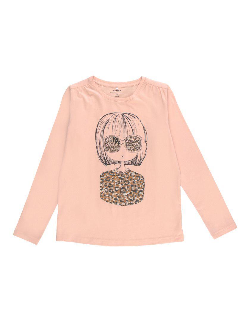 a8d03f09b Camiseta niña muñeca con detalles glitter NAME IT