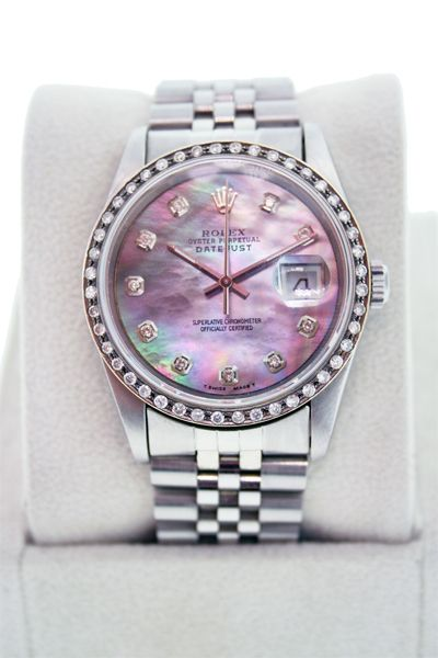 ca0af385f5 Rolex Daytona 40mm Stainless Steel Tahitian Mother of Pearl Dial Datejust  Watch. Happy 40th Birthday to me!