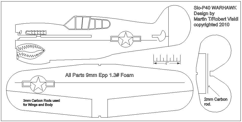 Rc Foam Plane Plans