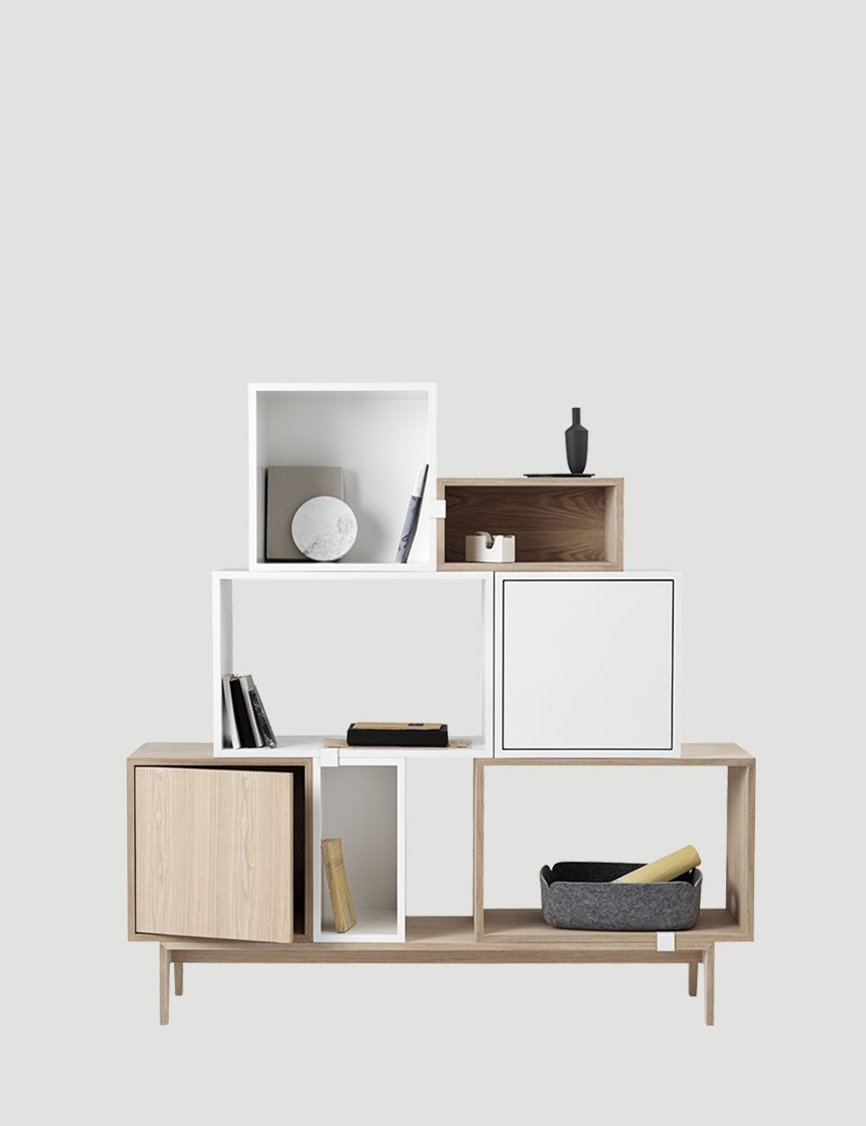 The STACKED system provides a storage solution with endless ...