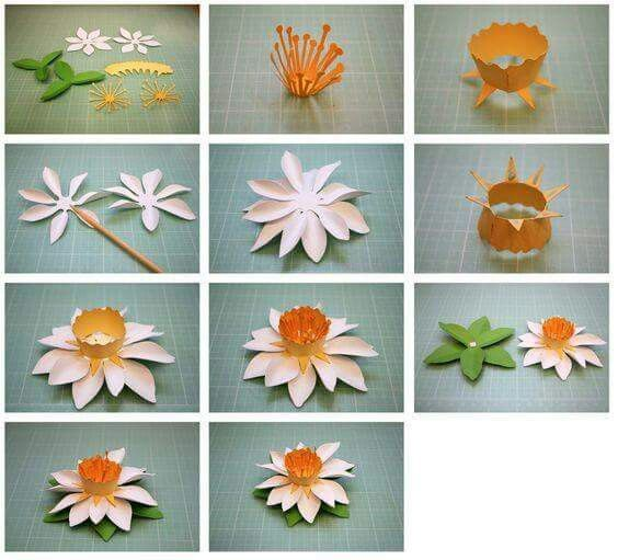 Pin by spring rainbow on papel paper works pinterest flowers flower tutorial mightylinksfo Choice Image