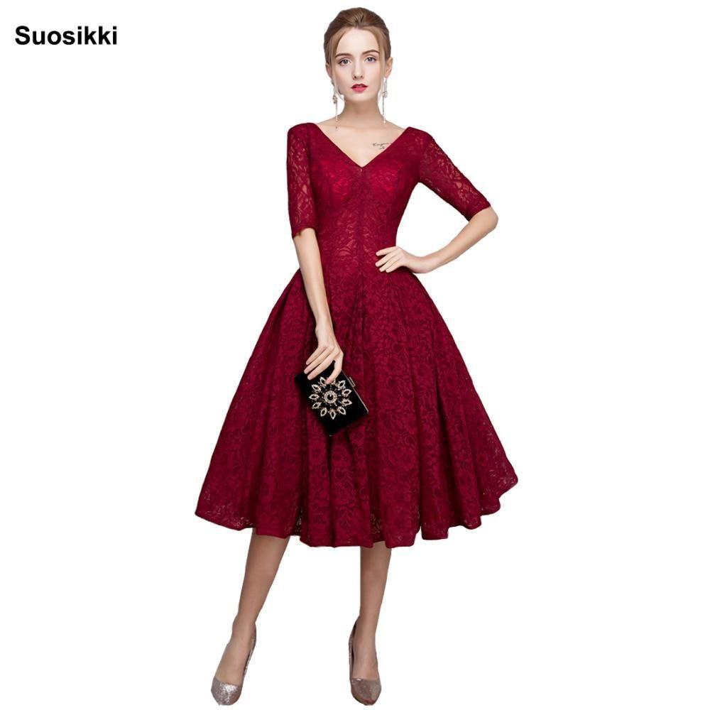 new arrival sexy black lace vneck prom dresses elegant formal