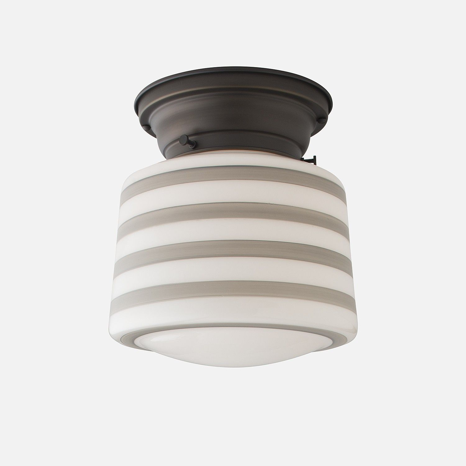 Drum Shade - Gray Bands | House | Pinterest
