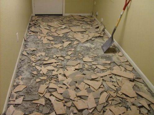 Radio Removing Tile Tile Removal Tiles House Flooring