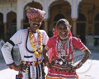 Dressing style in rajasthan