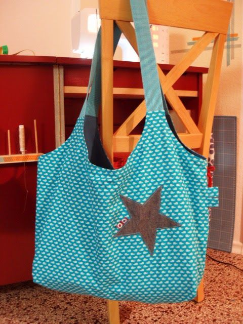 Stofftasche, Stoffbeutel, Tasche, bag, tote, marketbag, nähen, sew ...