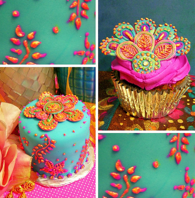 Mehndi Cake Perfect For Mehndi Night Super Cute Colors Wedding