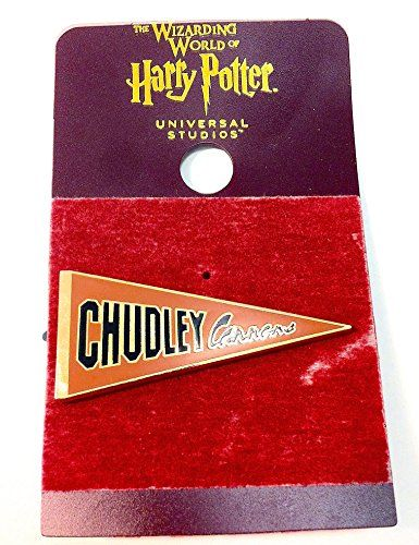 Wizarding World of Harry Potter : Quidditch Chudley Cannons Pennant Flag Metal Trading Pin @ niftywarehouse.com #NiftyWarehouse #HarryPotter #Wizards #Books #Movies #Sorcerer #Wizard