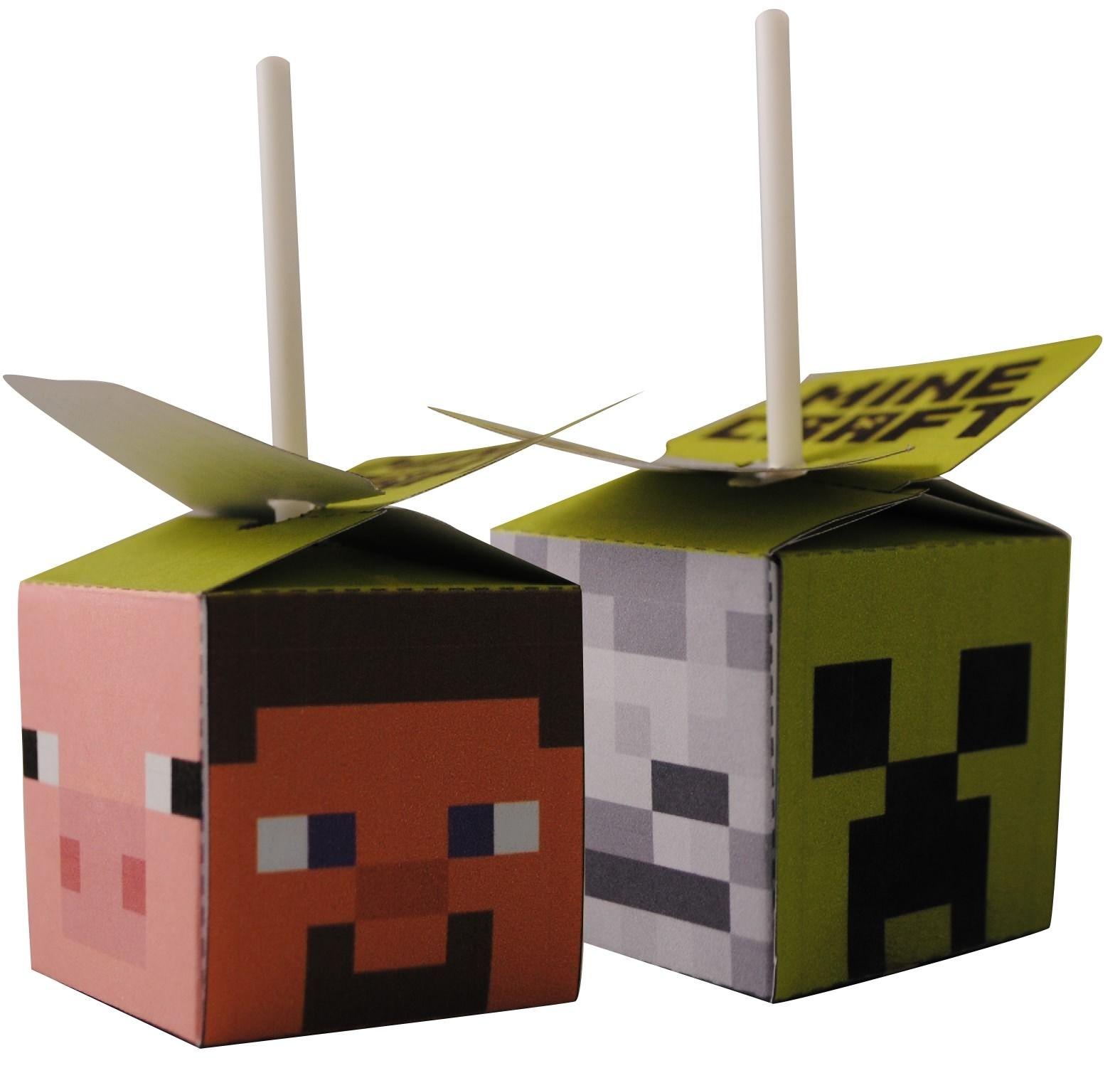 Minecraft Doe Het Zelf Feestpakket Printbare Knipvellen