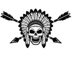 Indian Headdress Clipart Black And White