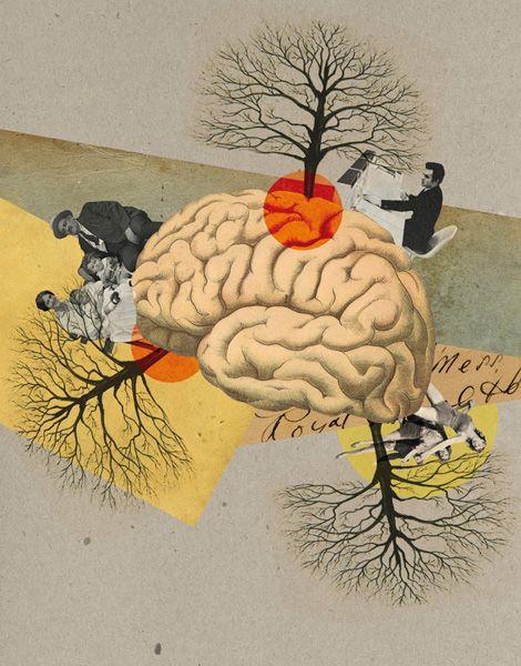 Philosophie magazine - Julien Pacaud • Illustration • Perpendicular Dreams