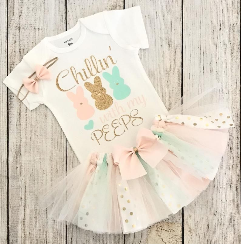 baby girl easter outfit baby girl my first easter outfit my first easter baby girl outfit chillin with my peeps baby girl -