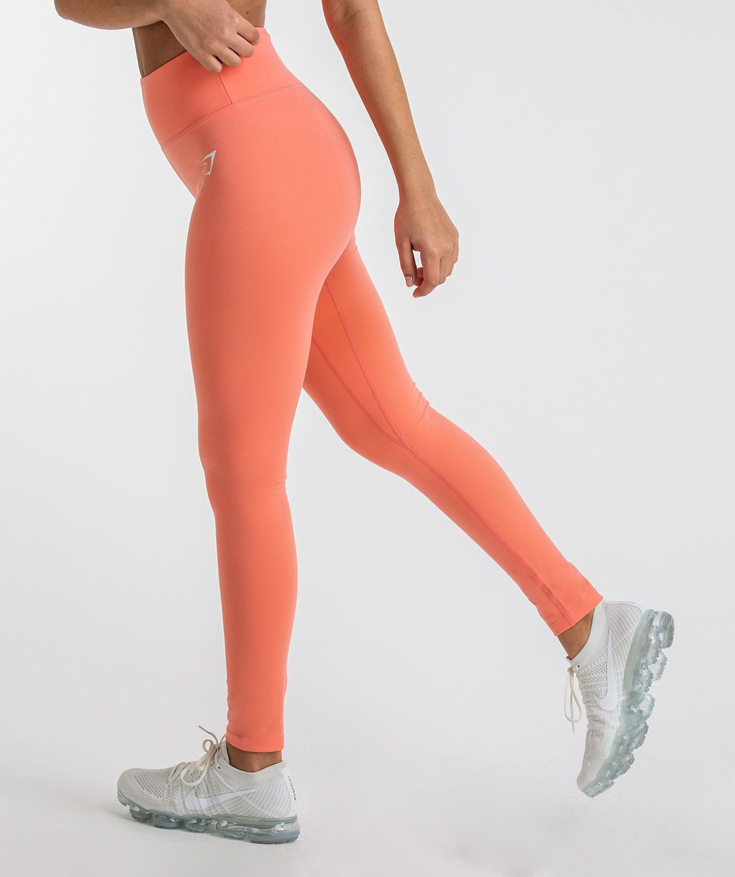 43bb94fafb89f Gymshark Dreamy Leggings - Peach Coral | Gym clothes | Leggings ...