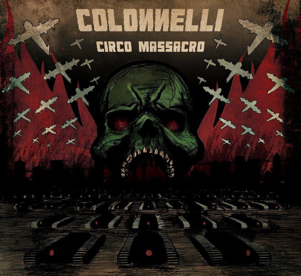 I Colonneli, Rock Band CD Cover.