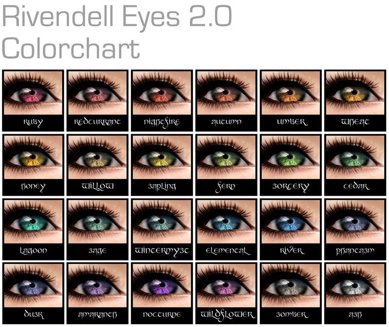 Eye Color Chart With Names Denmarpulsar