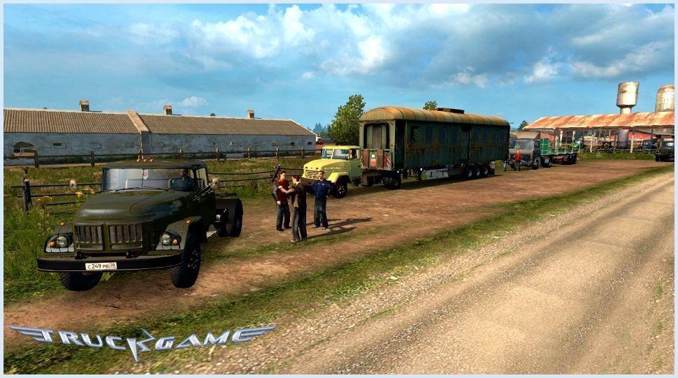 Карту Rusmap Для Euro Truck Simulator 2 - librarydot