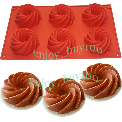 Bareware Chocolate Muffin Cup Bundt Cake Pan Jelly Silicone Mold Donuts Mould Ebay Chocolate Muffins Bundt Cake Pan Bundt